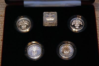 Royal Mint 1984-1987 UK £1 silver proof collection