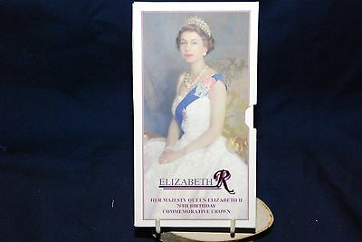 Royal Mint 1996 £5.00 Crown  commemorating Queen Elizabeth 2nd 70th birthday
