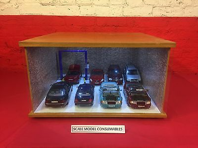 1:18 1/18 1-18 118 Scale Mercedes Complete Diorama Garage With Tools & Cars
