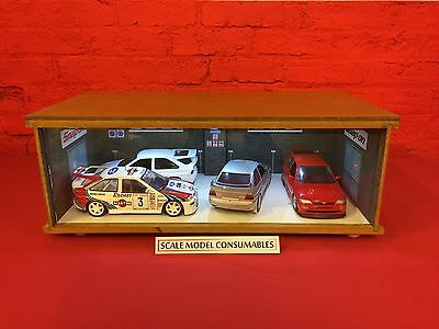 1:18 1/18 1-18 118 Scale Ford Cosworth Complete Diorama Garage With Tools & Cars