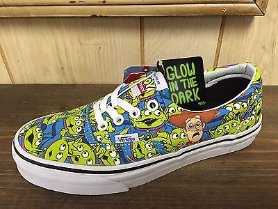 Vans X Toy Story Era Aliens GLOW  Size 9.0 (woman 10.5)