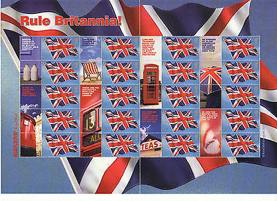LS20 2004 Smilers For RULE BRITTANIA  (face value £12.80)