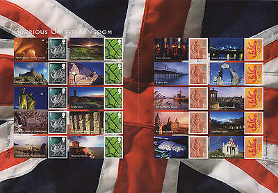 LS49 2008 Smilers For Glorious United Kingdom (face value £12.80)