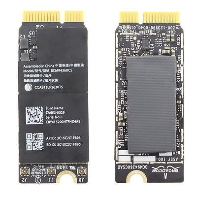 Apple Macbook Pro Retina A1502 Wireless Wifi Card Bcm94360Cs 653-0029