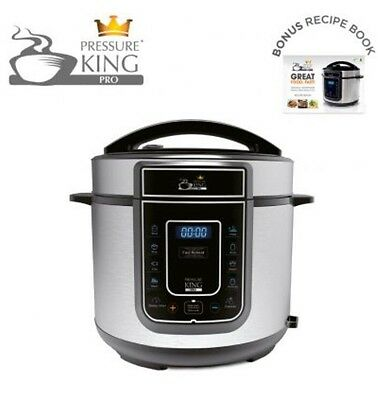 Pressure King Pro 12 in 1 Digital Electric Pressure Cooker New Model U.K. Plug