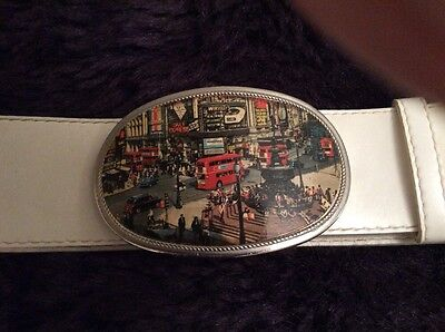 1970's London Piccadilly Circus Belt.
