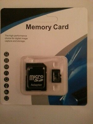 128GB Max MicroSD Card & free Adapter For SmartphonesTablets Cameras PC PDA