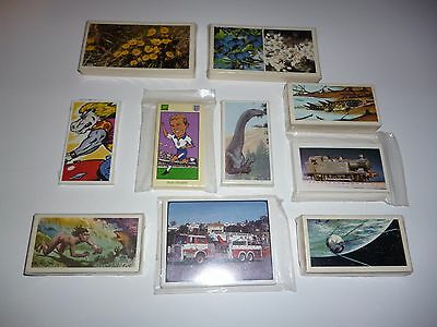 Collection of 10 Different Trade/ Trading card COMPLETE Sets  Lot 2
