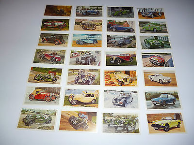 Players Grandee Cigars Famous MG Marquees Cars trading card Set