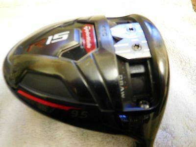 R15 Taylormade Driver Black with Regular Shaft R.H.