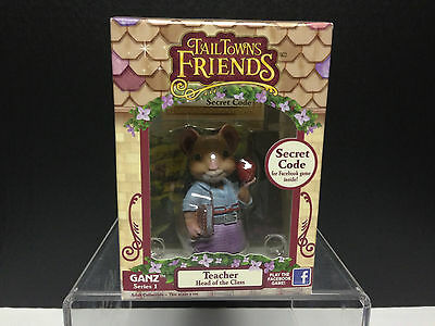Ganz Tail Towns Friends Teacher Figurine Secret Code Facebook Game