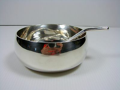 CHRISTOFLE  SAUCEBOAT SILVER PLATE WITH  SPOON FOR JAG Jewelry Andreas Gmur
