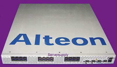 Nortel Alteon ASF 6400 Switched Firewall Accelerator L7 EB1639067-E5