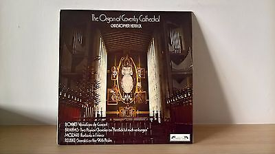 Christopher Herrick - Coventry Cathedral Organ (Sol 335) Uk 1973 Stereo Lp Ex