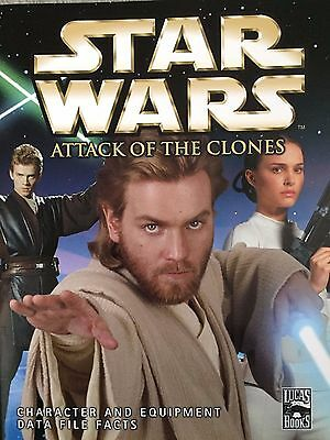 Star Wars Episode II Attack of the Clones Data Files Book