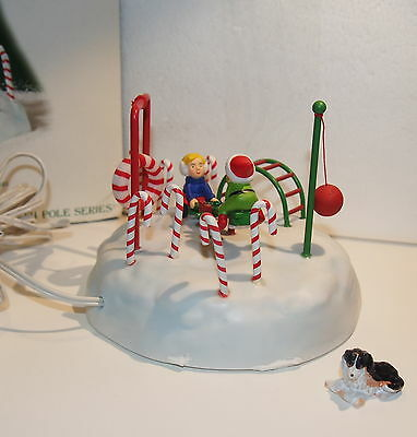 Frosty Playground Dept 56 North Pole Series Heritage Collection As Found Elfland