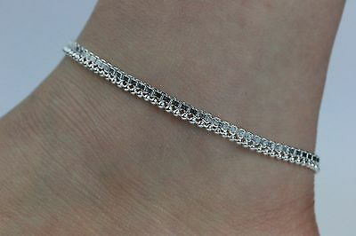 Stunning Simple Ankle Chain Anklet Payal Indian Bollywood Anklets Single or Pair