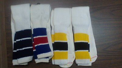 Vintage 1970's Twin city Super Cushioned athletic tube sock