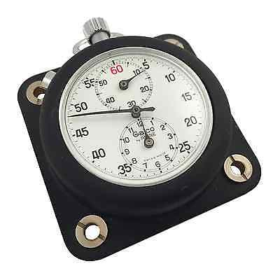 Vintage Galco by Racine Stopwatch Timer + Dash Holder Master Time - NEW