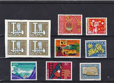 stamps helvetia  timbres suisse neufs *