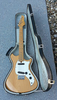 Vintage 1982 Westone Concord 1 Electric Guitar w/ OHSC Matsumoku Made in Japan