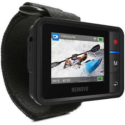 REMOVU R1+ Waterproof Wearable Wi-Fi Live View Remote for GoPro NEW! * RMR1P*