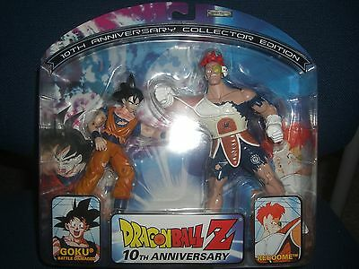 Dragonball Z 10th Anniversary Battle Damaged GOKU vs RECOOME Action Figures