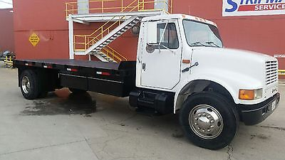 1993 International 4900 Flatbed Great Condition