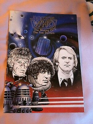 Doctor Who Fanzine- The Making of the Five Doctors