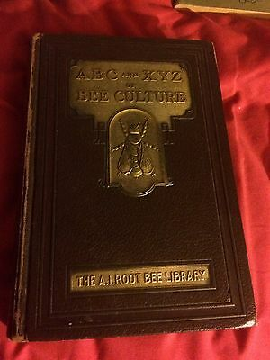 ABC and XYZ of bee culture A I Root BEE LIBRARY RARE 1947 VGC HB BEEKEEPING
