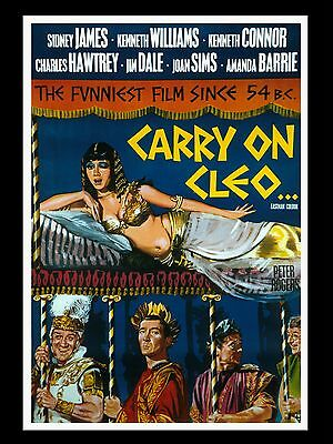 """Carry On Cleo 16"""" x 12"""" Reproduction Movie Poster Photograph 3"""