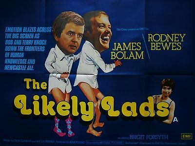 """The Likely Lads 16"""" x 12"""" Reproduction Movie Poster Photograph"""