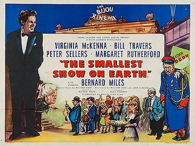 """The Smallest Show on Earth 16"""" x 12"""" Reproduction Movie Poster Photograph"""