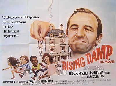 """Rising Damp 16"""" x 12"""" Reproduction Movie Poster Photograph"""