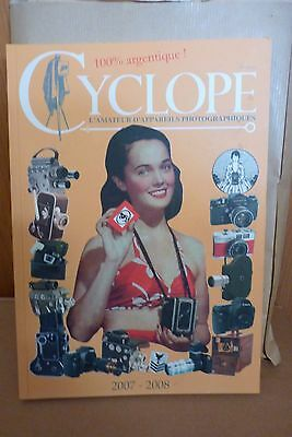 livre collection cyclope 100% argentique 2007-2008
