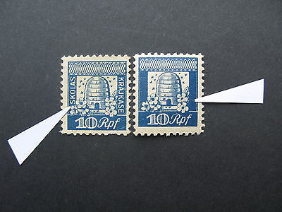 Latvia, Lettonia, Lettland, Germany occupation - School tax stamps - RARE