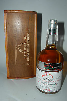 WHISKY MACALLAN 30 YEARS OLD OLD & RARE PLATINUM 1977 BOTTLING 2008 70cl.