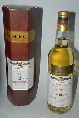 WHISKY THE OLD MALT CASK HIGHLAND PARK 10 YEARS OLD DISTILLED 1989 IN BOX 70cl.