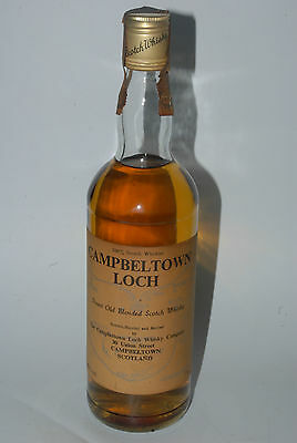 WHISKY CAMPBELTOWN LOCH BLENDED SCOTCH WHISKY AÑOS 70 70cl.
