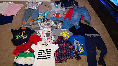 Mixed lot of Boys Clothes 5 6 Years Including Minions Batman