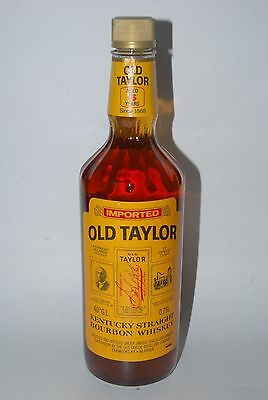 WHISKY OLD TAYLOR STRAIGHT BOURBON WHISKY AÑOS 70 75cl  AGED 6 YEARS