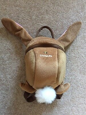 Little Life Rabbit Backpack And Reins Brand New
