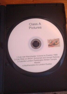 Cab Ride DVD Over 3 hours of Video on 1 Disk, Manchester London Dorset, 80041