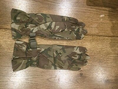 military MTP leather gloves size 6 New