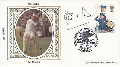 England Cricket Great Sir IAN BOTHAM Signed BENHAM 1984 First Day Cover