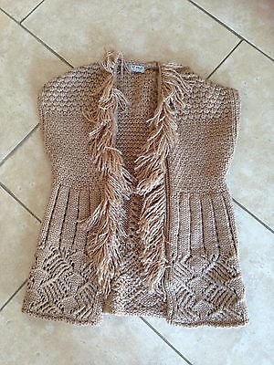 New Without Tags Next Age 5-6 Knitted Sleeveless Cardigan