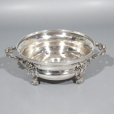 Part of Antique French Silver Plate Warmer Dish, Centerpiece Jardinière, Rococo