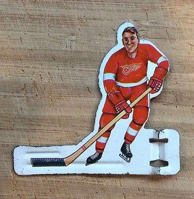 Vintage  Coleco Table Hockey Player-1960's-Detroit Red Wings