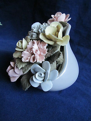 Vtg Royal Adderley Bone China Floral Bouquet Made in England Collectible c1960s