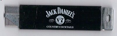 VINTAGE JACK DANIEL'S Old Time Quality Country Cocktails  BOX CUTTER - Whiskey